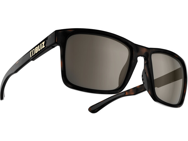 Bliz Luna M9 Brille demi brown/brown with silver mirror
